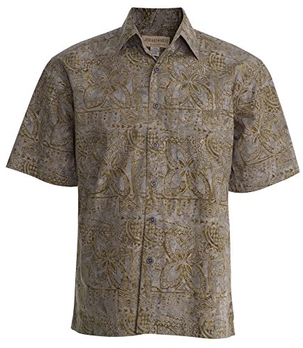 Johari West Ocean Breeze Tropical Hawaiian Cotton Shirt