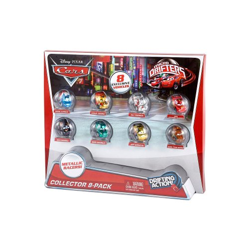 Disney/Pixar Cars Micro Drifters Collector, 8-Pack (Micro Drifters Cars compare prices)