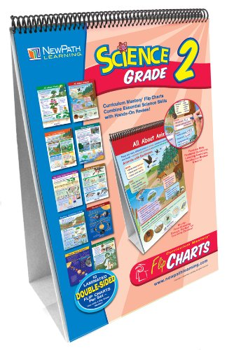 NewPath Learning 10 Piece Science Curriculum Mastery Flip Chart Set, Grade ()