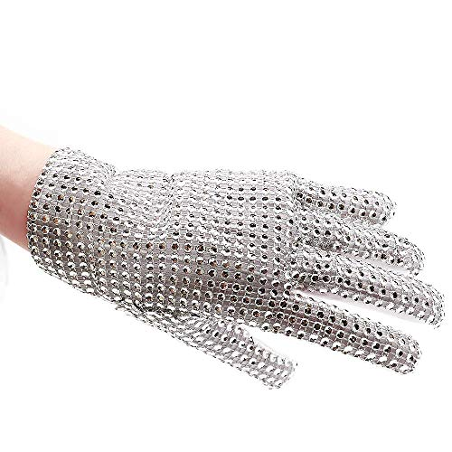 Michael Jackson Glove for Kids Billie Jean glove Single side Rhinestone Gloves (Right -