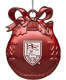 Fairfield University - Pewter Christmas Tree Ornament - Red