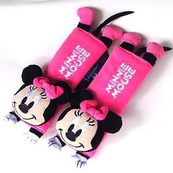 Amazon.com: Disney Minnie Mouse Design Multi Use Auto Car seat belt ...