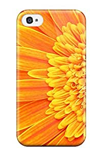 Hot Tpye Fresh Marigold Case Cover For Iphone 4/4s