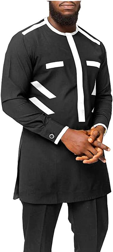 African Suit for Men Dashiki Coats and Ankara Pants 2 Piece Set Wedding Evening Outfits Slim Fit Outwear Jacket Clothes