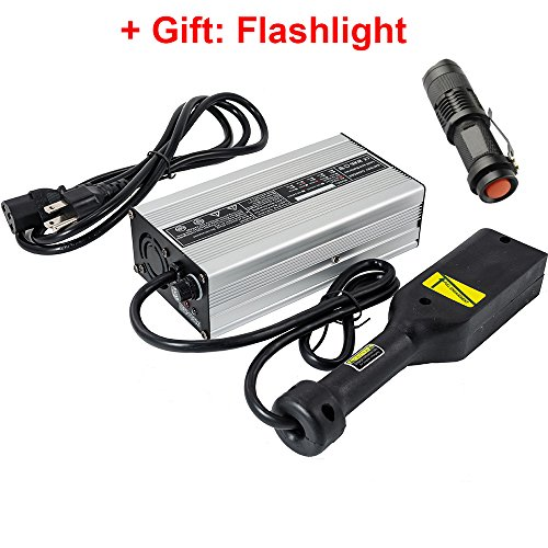 Powerwise Plug - iMeshbean 36 Volt 5A Golf Cart Battery Charger with Powerwise Plug for EZ-GO EZGO Fully Automatic