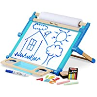 Melissa & Doug Double-Sided Magnetic Tabletop Art Easel