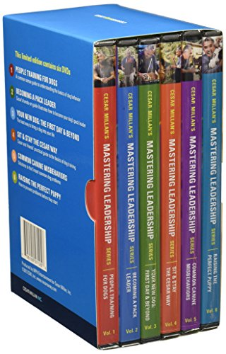 Cesar Millan Mastering Leadership Series Six DVD Box Set for Dog Training and Behavior by Cesar Millan