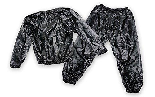 SPRI Total Workout Sauna Suit, Large/X-Large