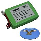 HQRP Battery compatible with Sportdog SportHunter 1200 model SD-1200 SR200-IM SWR/2 Remote Controlled Dog Training Collar Receiver plus HQRP Coaster, My Pet Supplies