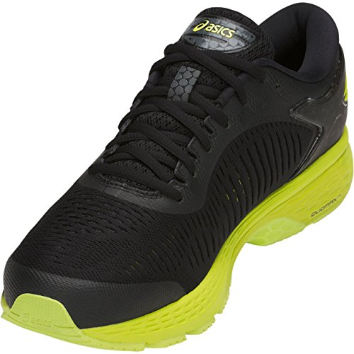 ASICS Gel-Kayano 25 Men's Running Shoe, Black/Neon Lime, 7 D(M) US by ASICS (Image #2)
