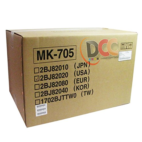 - Genuine Kyocera Mita MK705 400K Maintenance Kit FOR KM2530 KM3035