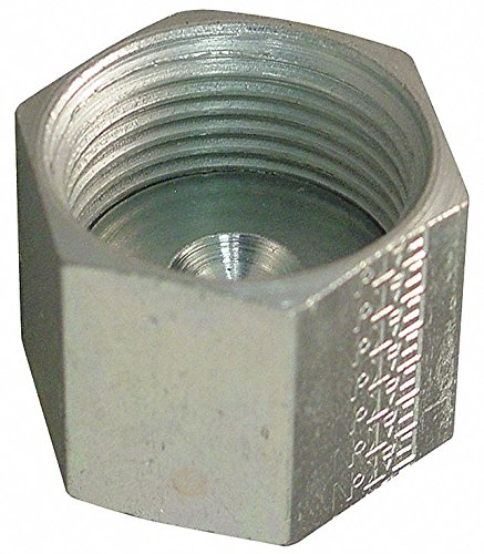 (EATON AEROQUIP CAP ASSEMBLY. O-RING FACE SEAL (ORS). STEEL. 3/8 TUBE.)