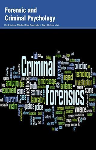 Forensic and Criminal Psychology