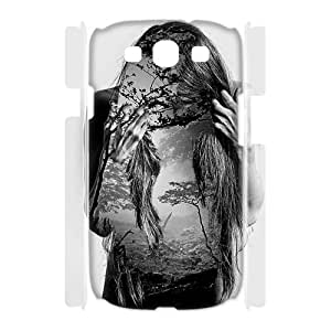 LASHAP Phone Case Of human body part,Hard Case !Slim and Light weight and won't fade, Scratch proof and Water proof.Compatible with All Carriers Allows access to all buttons and ports. For Samsung Galaxy S3 I9300