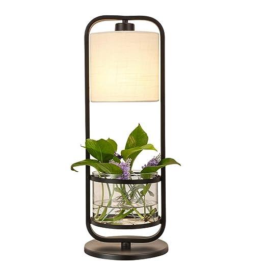 Lámparas de mesa- Lámpara de Escritorio de la Planta, luz de la ...