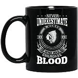 Funny Native American Gift Mug %2D Never