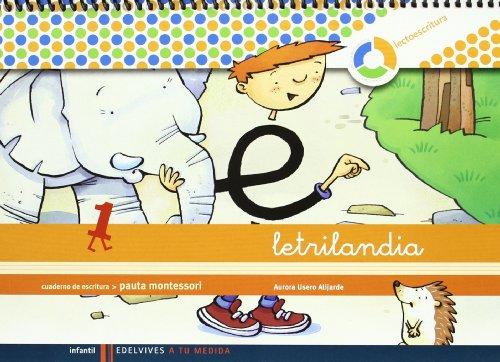 Letrilandia. Lectoescritura Cuaderno 1 De Escritura - 9788426371393