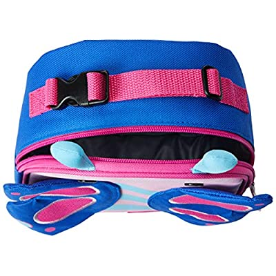 Skip Hop Zoo Kids Insulated Lunch Box, Blossom Butterfly, Pink: Baby