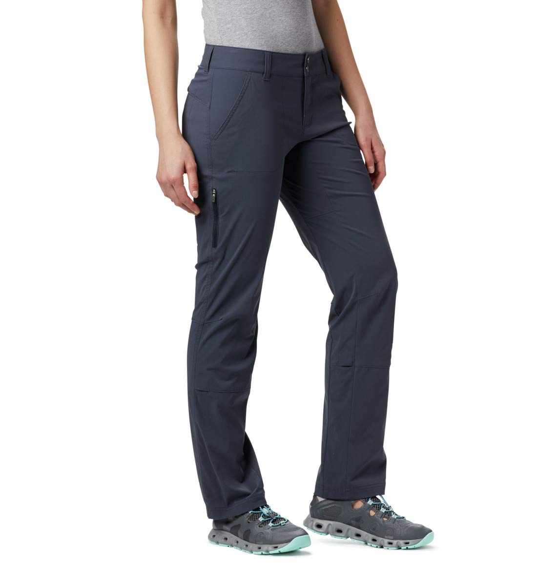 Columbia Women's Saturday Trail Pant,India Ink,14 Short by Columbia