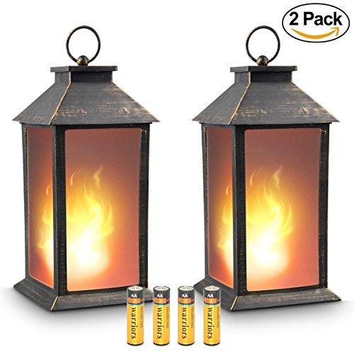 Flickering Candle Lantern - zkee 13