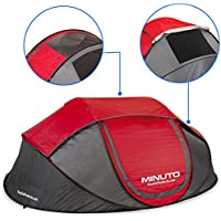 EasyGoProducts MINUTO Instant Setup Camping Tent - Family...