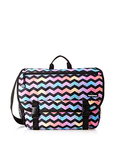 Yak Pak Uptown Messenger, Chevron Zig Zag Black, One, used for sale  Delivered anywhere in USA