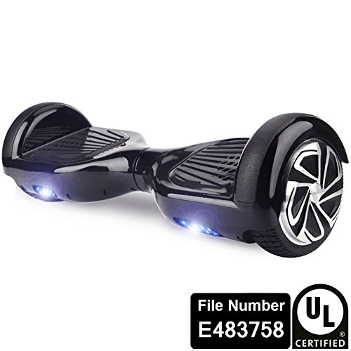UL2272 Certified Smart Self Balancing Hoverboard Personal Adult Transporter with LED Light