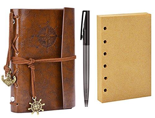 Notebook Coxeer Sketchbook Supplies Interleaves
