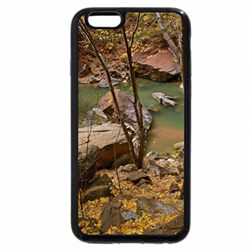 iPhone 6S Plus Case, iPhone 6 Plus Case, Fast Flowing River