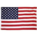 OTLIVE 3x5 ft Home Garden Flags Printed Starts and Stripes American Flag Polyester Flag Indoor/Outdoor