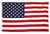 OTLIVE 3x5 ft Home Garden Flags Printed Stars and Stripes American Flag Polyester Flag Indoor/Outdoor