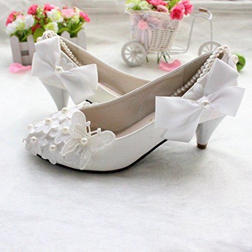 boda el la de de el de Si las para Zapatos pulsera las hechas resorte novia y la tobillo etiquetas la verano de perso 3CM a amp; dama vestido de partido el honor y mano la perla y banquete mujeres 4XAqfwInq