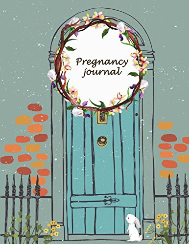 Pregnancy journal Diary Keepsake And Memories Scrapbook,Pregnancy Memory Book With Monthly To Do Notes 120 pages 8.5 x 11 [Planners, Windblown] (Tapa Blanda)