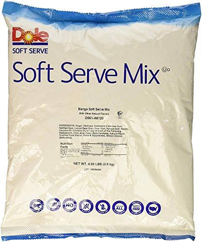 Dole Mango Soft Serve Mix, 4.5 Pound -- 4 per case. by Dole (Image #1)