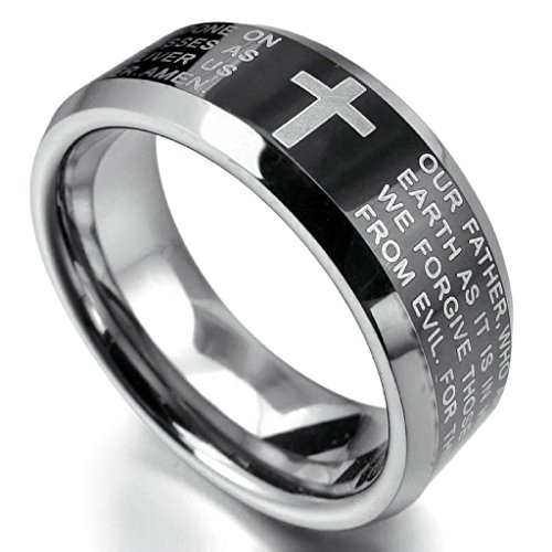 epinkifashion-jewelry-mens-tungsten-rings-band-black-silver-comfort-fit-cross-english-bible-lords-pr
