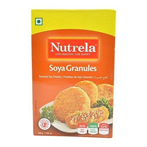 - Nutrela, Soya Granules, 200 Grams(gm)
