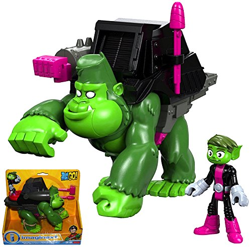Beast Boy & Gorilla Fisher Price Imaginext Teen Titans Go