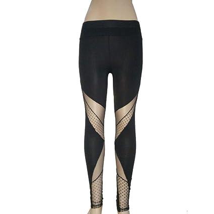 Pantalón para mujeres toamen Leggings de Yoga alta talla en ...