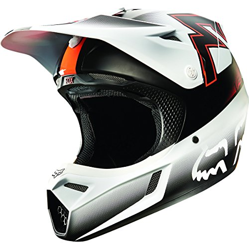Fox Racing Franchise Men's V3 Motocross Motorcycle Helmet - Orange / X-Large