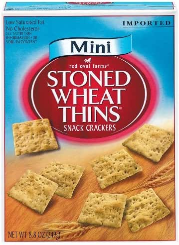 Crackers: Mini Stoned Wheat Thins