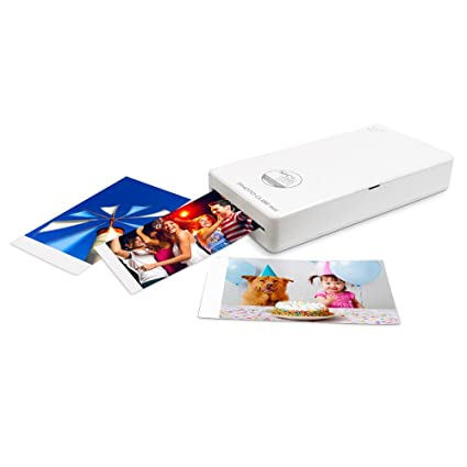Amazoncom Vupoint Solutions Photo Cube Mini Portable Photo Printer