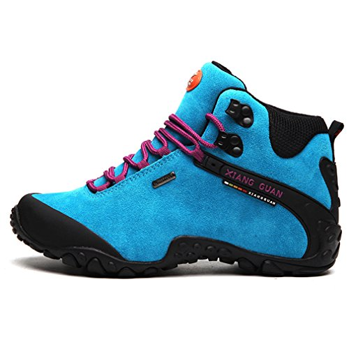mujer Zapatillas functional altas sport outdoor professional GUANNew Azul XIANG Style fashion 1w0Baz