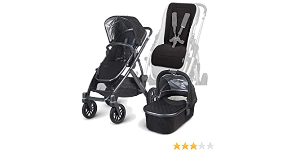 Amazon.com : UPPAbaby 2015 Vista Stroller with Bassinet and Seat ...