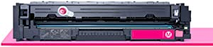 Remanufactured Toner Cartridge Replacement for HP 215A Toner Cartridge Use with for HP Color Laserjet Pro M182nw M155a M155nw M183nw Laser Printer with Chip-red