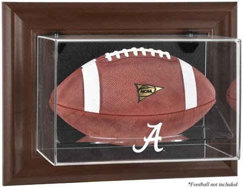 (Alabama Crimson Tide Framed Wall Mountable Football Display)