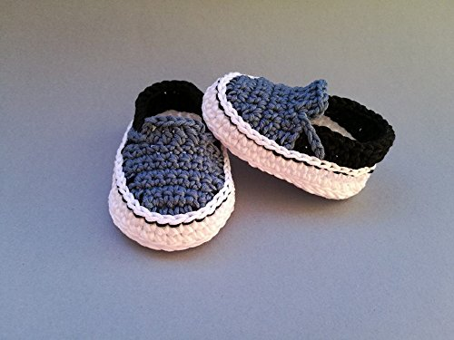 Amazon.com: CROCHET PATTERN baby Vans, baby sneakers, shoes, baby ...