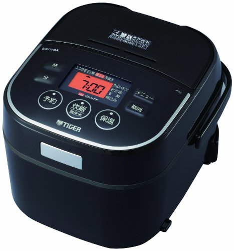Tiger Ih Rice Cooker Cooked Tacook (3gou Cook) Black for sale  Delivered anywhere in USA