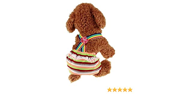 Female Dogs Nappy Diaper Season Dog Period Knicker Hygiene Pants rtry