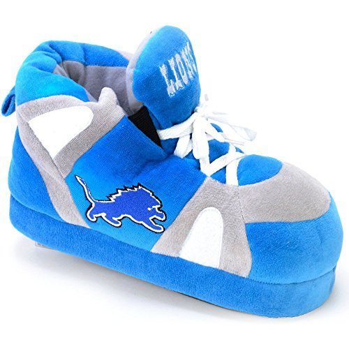 Comfy Feet NFL Sneaker Boot Slippers - Detroit Lions