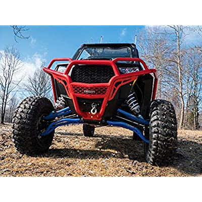 SuperATV High Clearance Upper & Lower A Arms for Polaris RZR XP Turbo/XP 4 Turbo (2016+) - Voodoo/Velocity Blue: Automotive